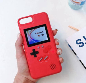 Sweet And Rosy™ for iphone 6 6s / Red Gameboy Retro Gaming iPhone Case