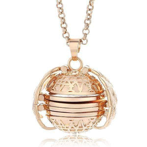 Sweet And Rosy™ Gold Expanding Photo Locket Necklace