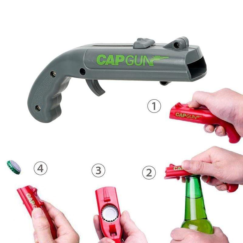 Sweet And Rosy™ Gray Bottle Cap Launcher