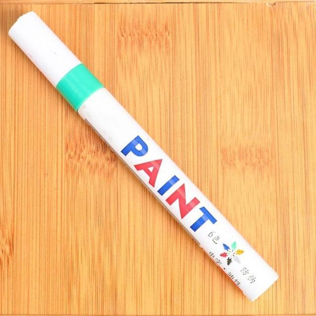 Sweet And Rosy™ Green Waterproof Non-Fading Tire Paint Pen