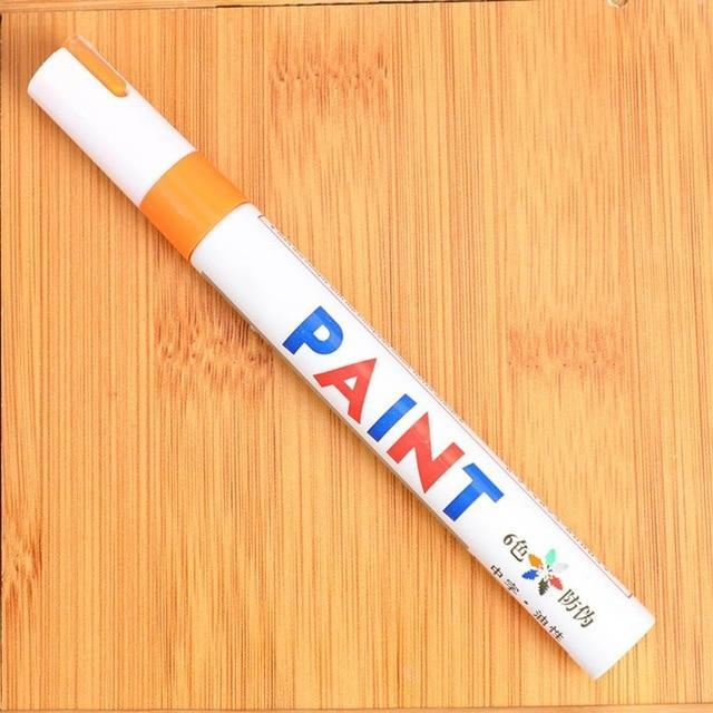 Sweet And Rosy™ Orange Waterproof Non-Fading Tire Paint Pen