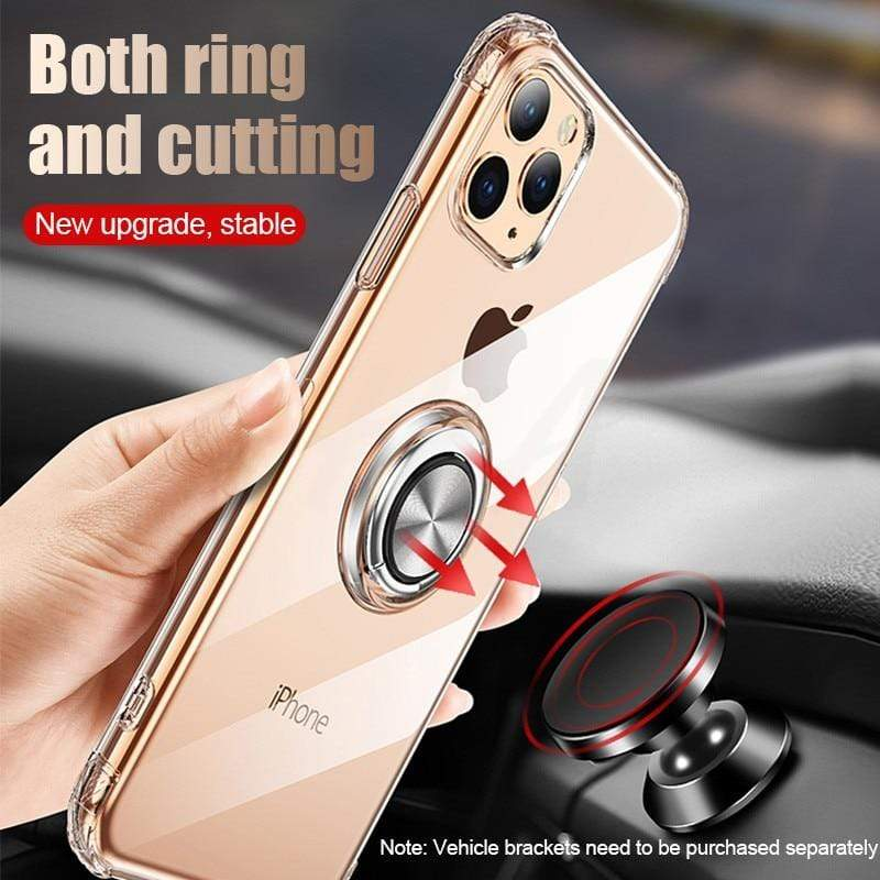 iPhone 11 Pro Max Case With Ring Phone Holder