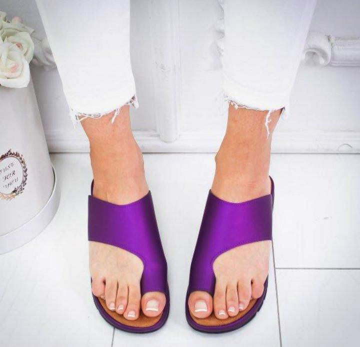 Sweet And Rosy™ Purple / 35 Women Comfy Platform Sandal Shoes