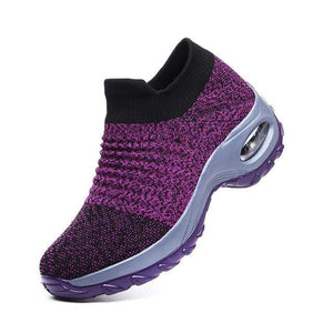 Sweet And Rosy™ Purple / 43 Walking Shoes Sock Sneakers