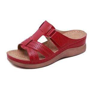 Sweet And Rosy™ Red / 13 Orthopedic Open Toe Sandals