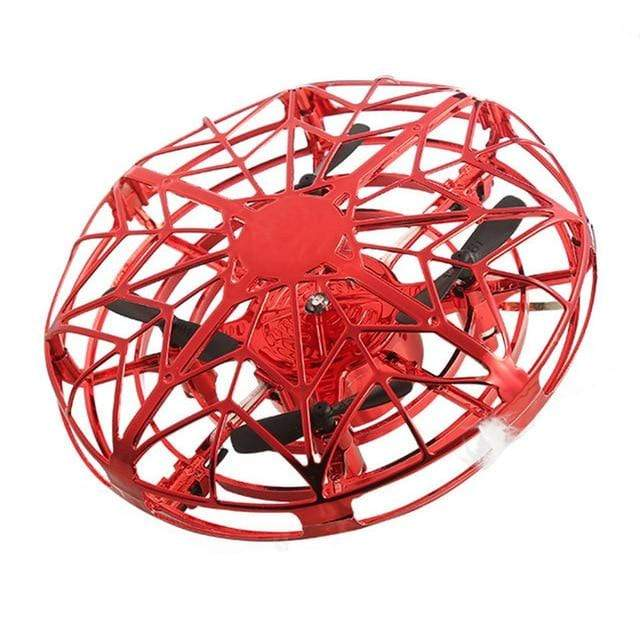 Sweet And Rosy™ red Mini Drone Quad Induction Levitation UFO