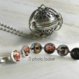 Sweet And Rosy™ Rose Gold Expanding Photo Locket Necklace