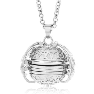 Sweet And Rosy™ Silver Expanding Photo Locket Necklace