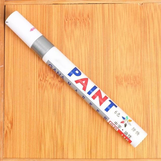 Sweet And Rosy™ Silver Waterproof Non-Fading Tire Paint Pen