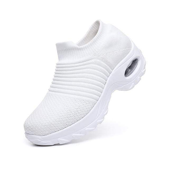 Sweet And Rosy™ White / 43 Walking Shoes Sock Sneakers