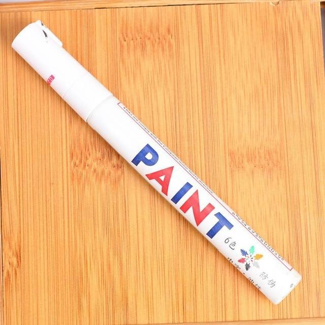 Sweet And Rosy™ White Waterproof Non-Fading Tire Paint Pen