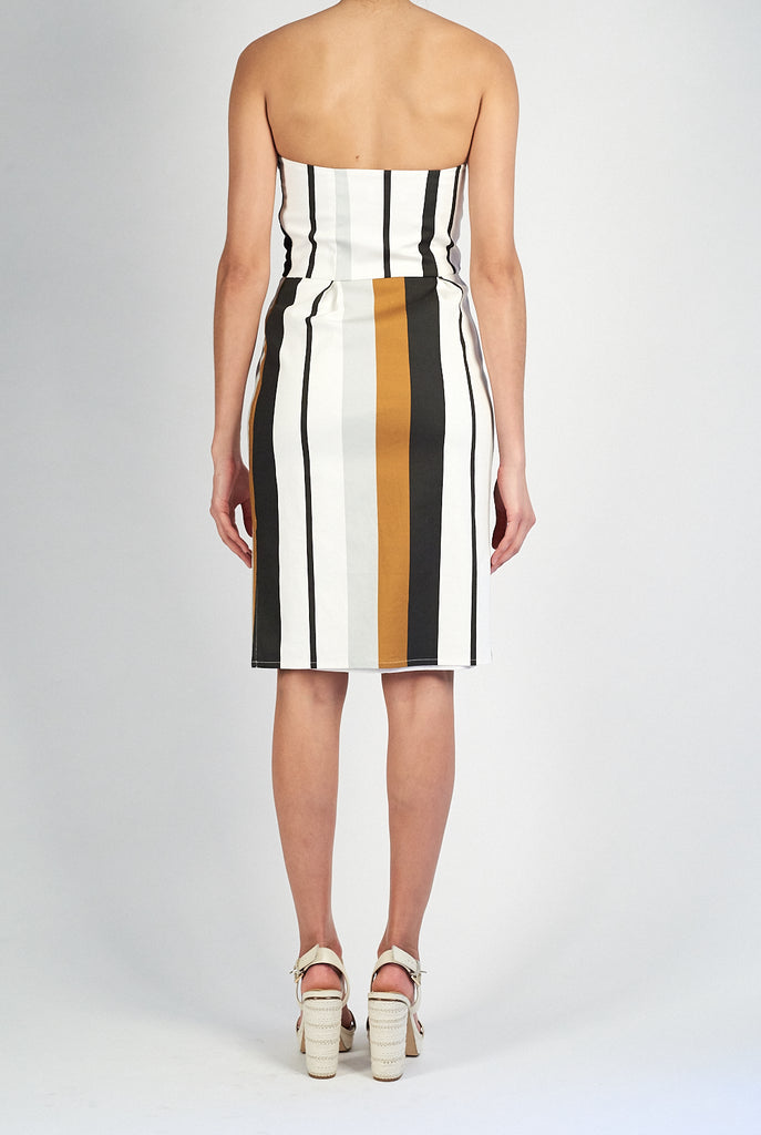 Livingston Dress • Luggage Stripe
