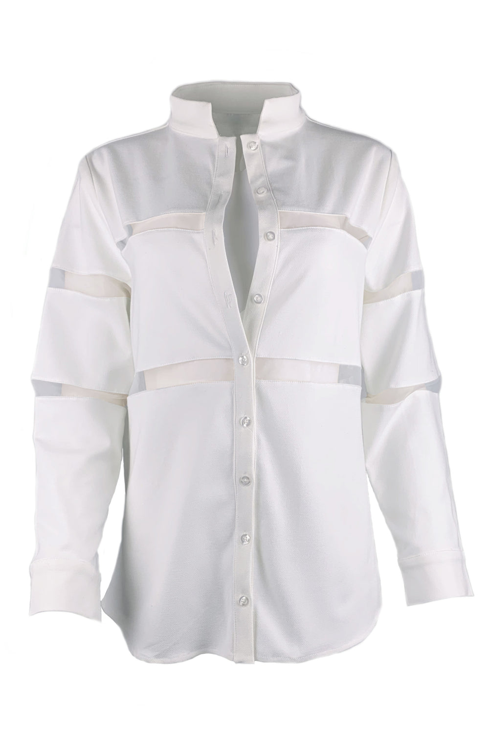 Greer Buttondown • White