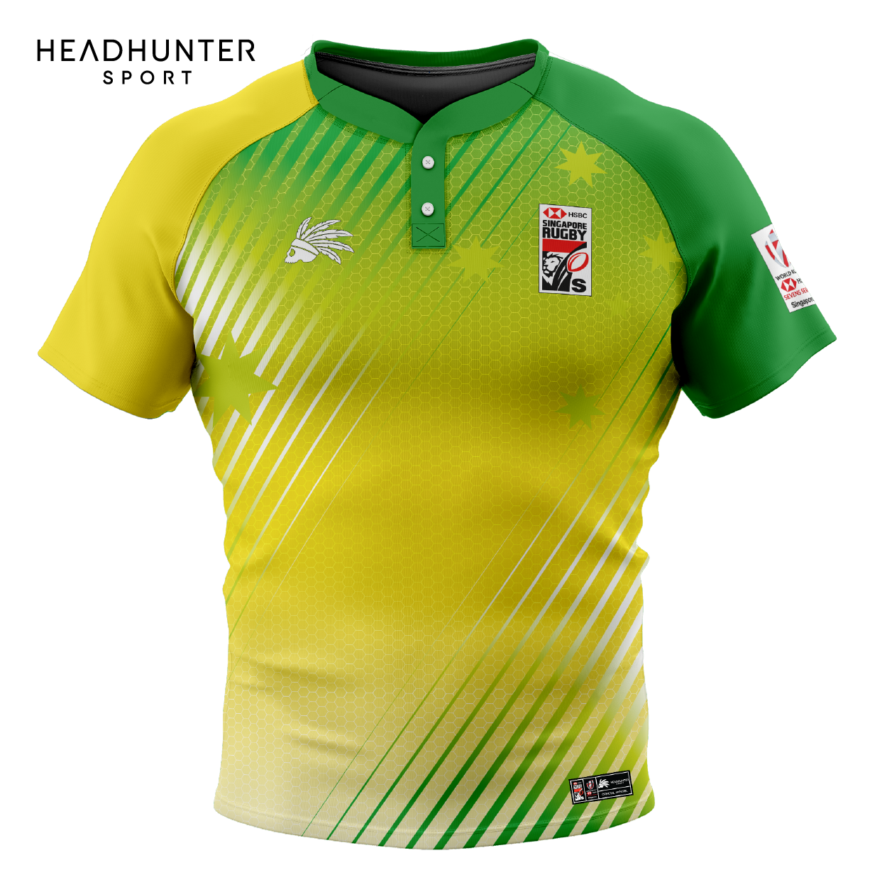 HSBC RUGBY 7S SERIES SINGAPORE 2019 MERCHANDISE AUSTRALIA JERSEY