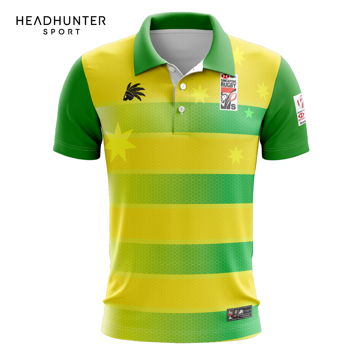 HSBC RUGBY 7S SERIES SINGAPORE 2019 MERCHANDISE AUSTRALIA POLO
