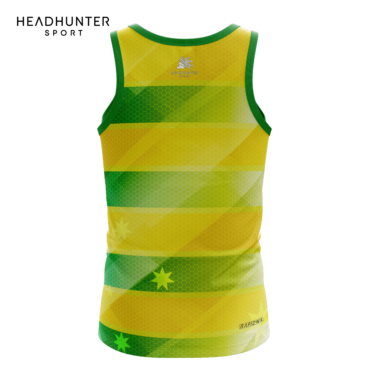 HSBC RUGBY 7S SERIES SINGAPORE 2019 MERCHANDISE AUSTRALIA SINGLET
