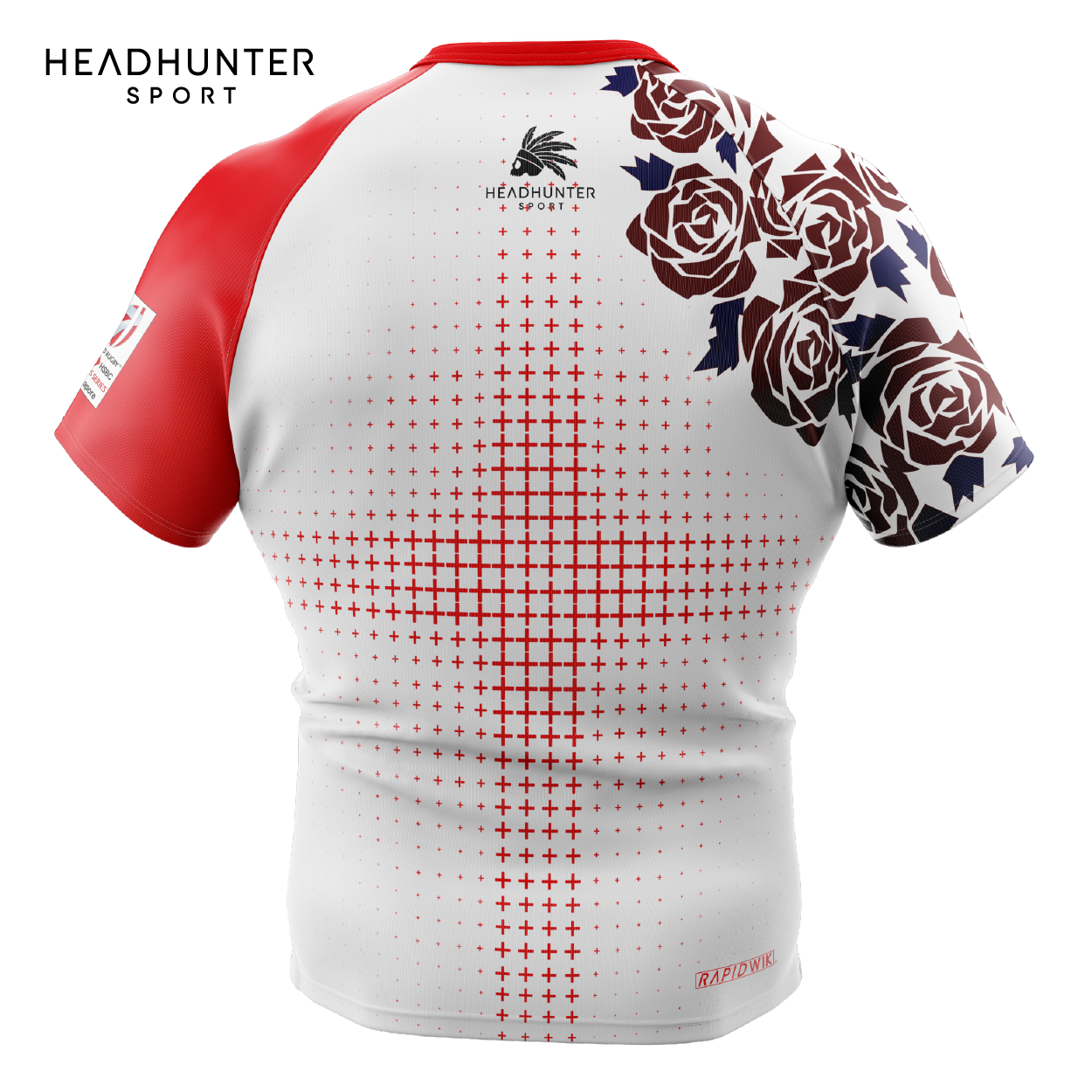 HSBC RUGBY 7S SERIES SINGAPORE 2019 MERCHANDISE ENGLAND JERSEY