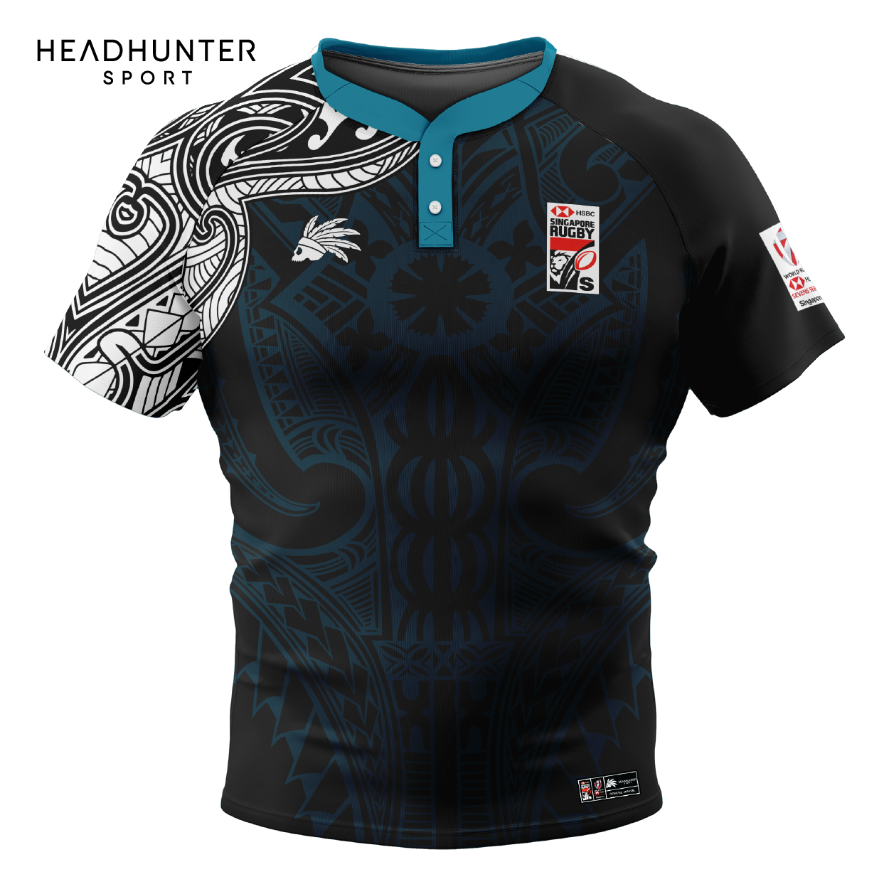 HSBC RUGBY 7S SERIES SINGAPORE 2019 MERCHANDISE FIJI AWAY JERSEY