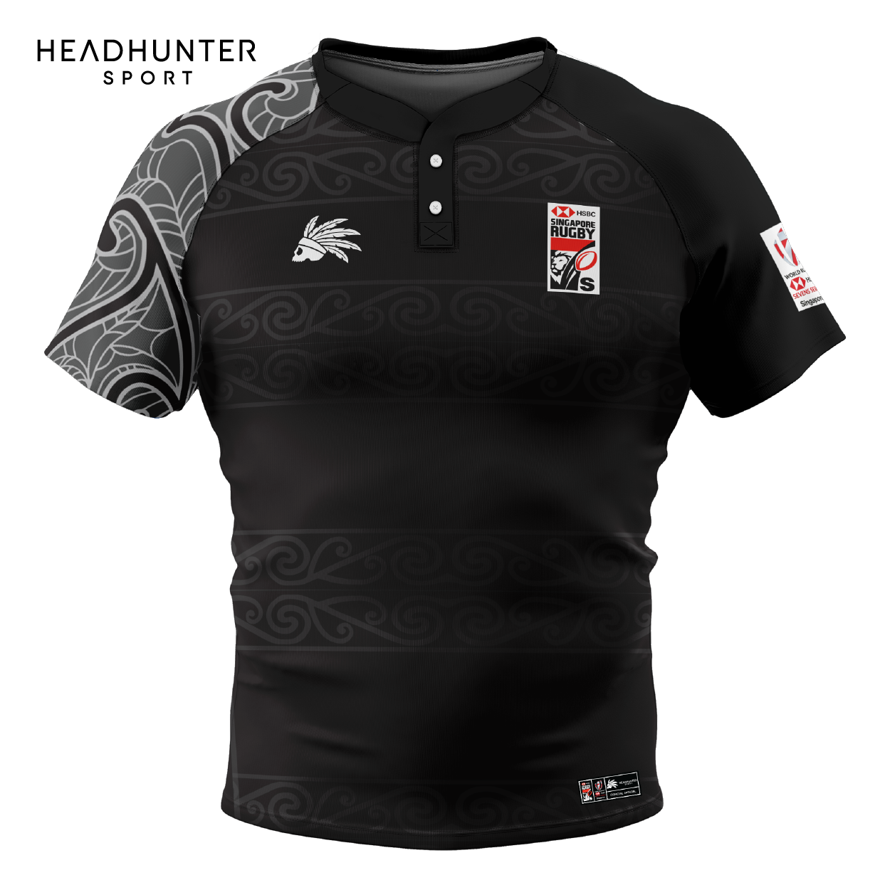 HSBC RUGBY 7S SERIES SINGAPORE 2019 MERCHANDISE NEW ZEALAND JERSEY