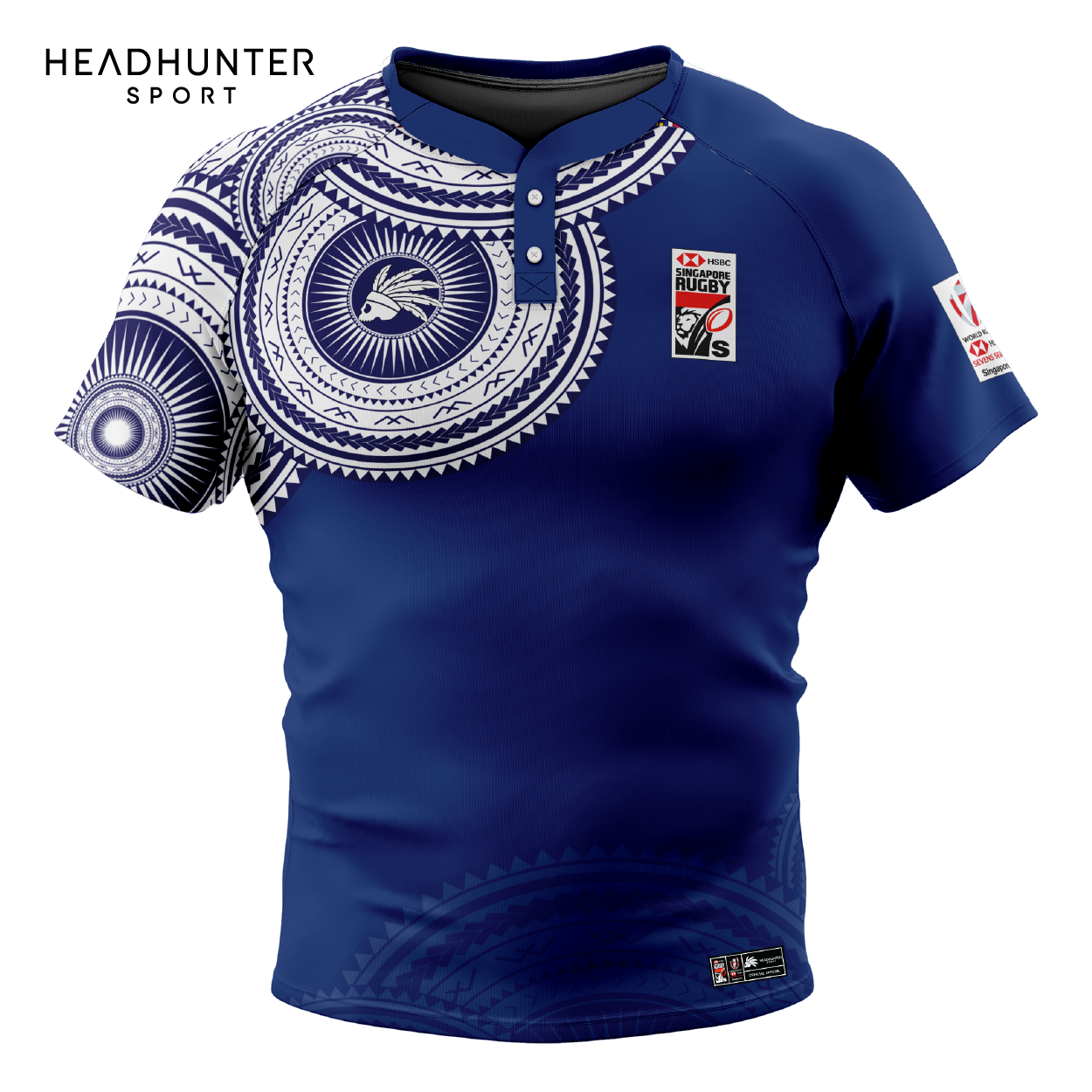 HSBC RUGBY 7S SERIES SINGAPORE 2019 MERCHANDISE SAMOA JERSEY