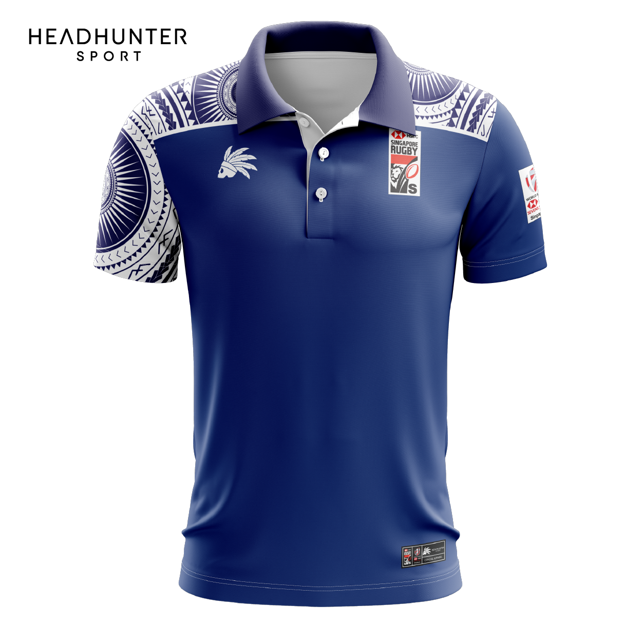 HSBC RUGBY 7S SERIES SINGAPORE 2019 MERCHANDISE SAMOA POLO