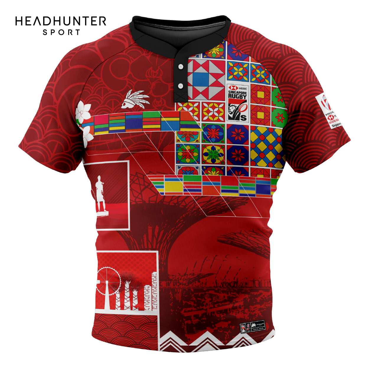 HSBC RUGBY 7S SERIES SINGAPORE 2019 MERCHANDISE JERSEY