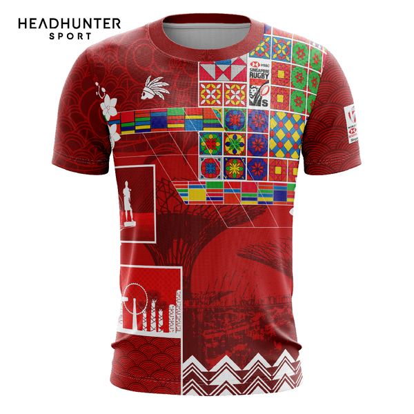 HSBC RUGBY 7S SERIES SINGAPORE 2019 MERCHANDISE KIDS TSHIRT