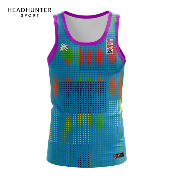 HSBC RUGBY 7S SERIES SINGAPORE 2019 MERCHANDISE PERANAKAN FEMALE SINGLET