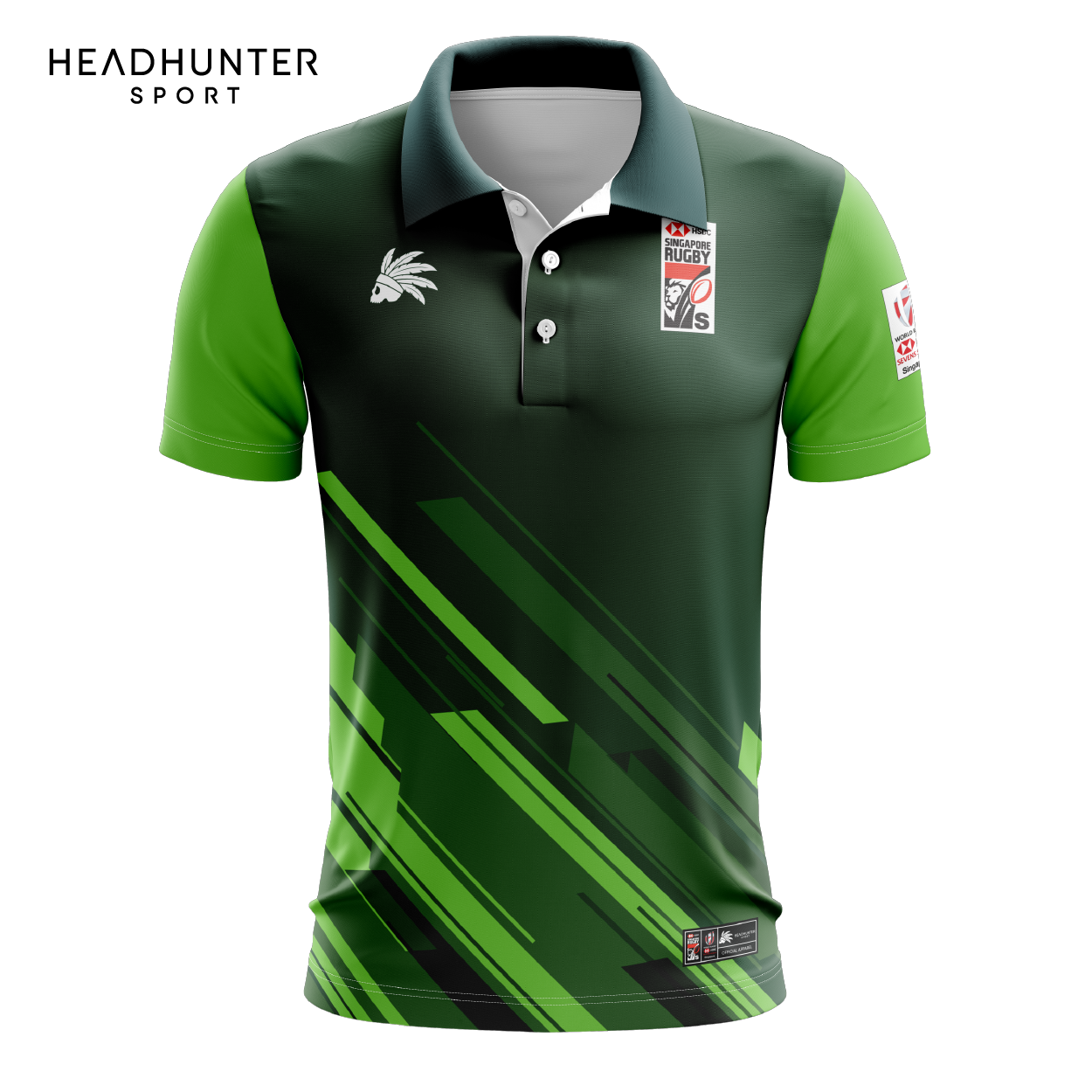 HSBC RUGBY 7S SERIES SINGAPORE 2019 MERCHANDISE SOUTH AFRICA POLO