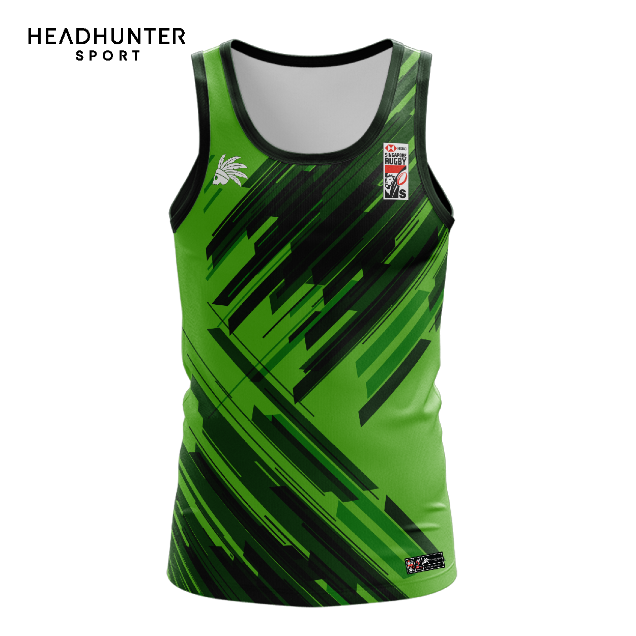 HSBC RUGBY 7S SERIES SINGAPORE 2019 MERCHANDISE SOUTH AFRICA SINGLET