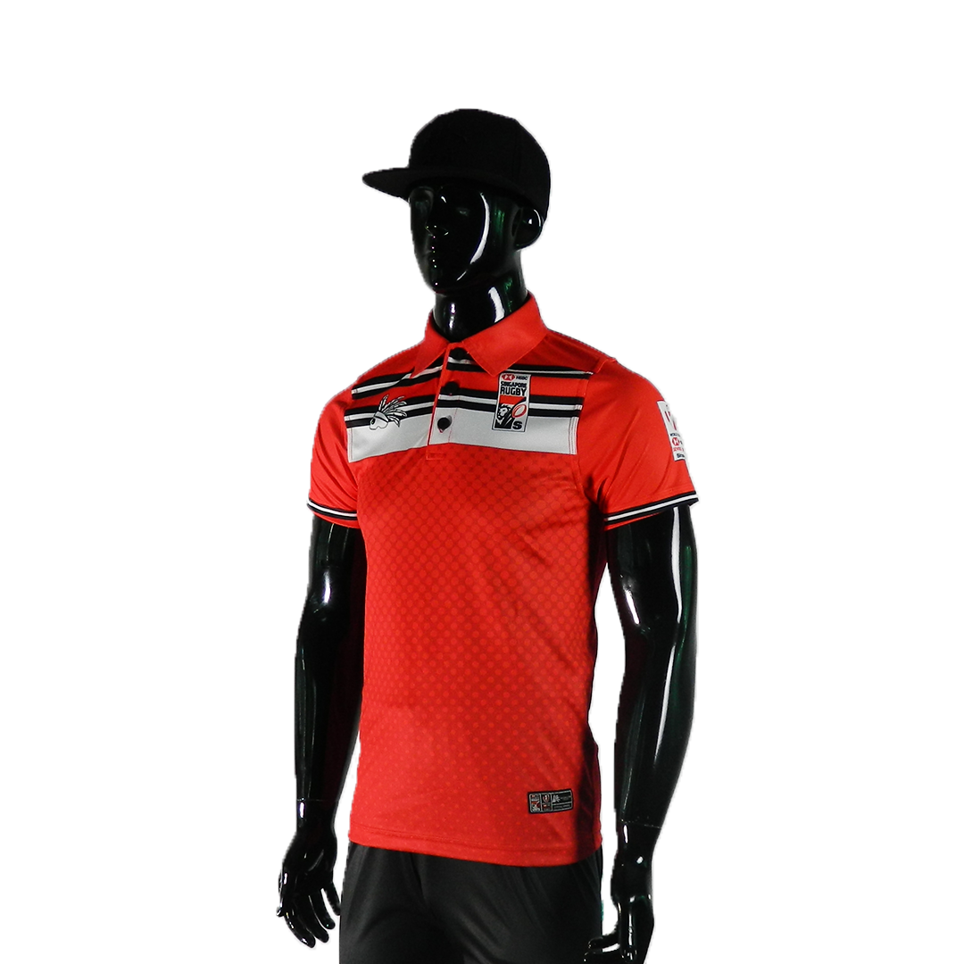 HSBC RUGBY 7S SERIES SINGAPORE 2019 MERCHANDISE SINGAPORE RED POLO