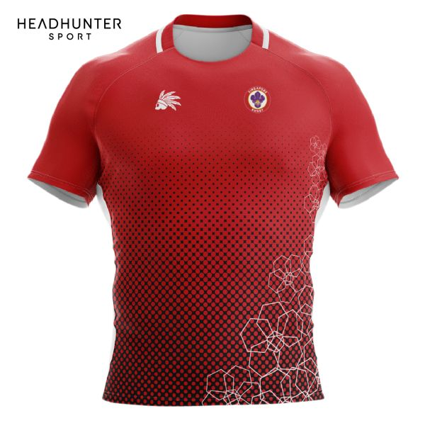 SINGAPORE RUGBY UNION HOME JERSEY