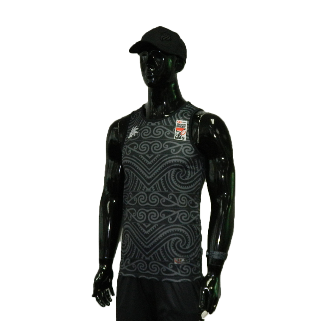 HSBC RUGBY 7S SERIES SINGAPORE 2019 MERCHANDISE NEW ZEALAND SINGLET