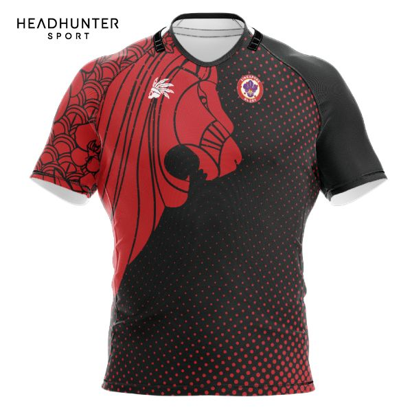 SINGAPORE RUGBY UNION SUPPORTER JERSEY BLACK