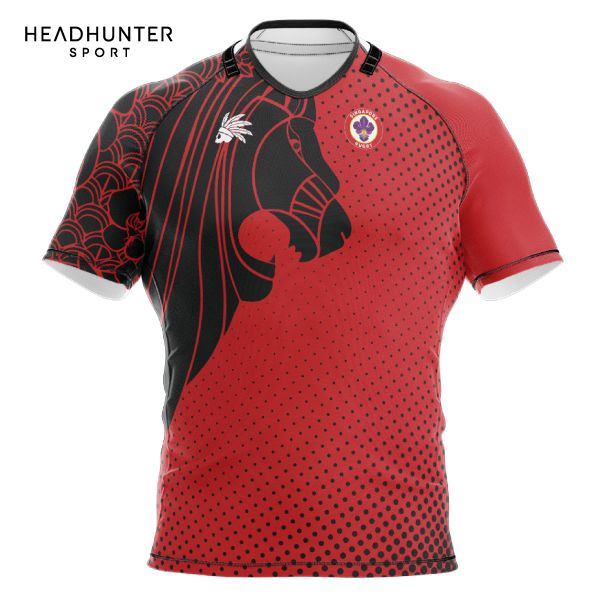 SINGAPORE RUGBY UNION SUPPORTER JERSEY RED