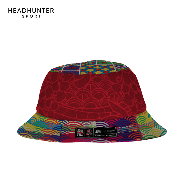HSBC RUGBY 7S SERIES SINGAPORE 2019 MERCHANDISE REVERSIBLE BUCKET HAT