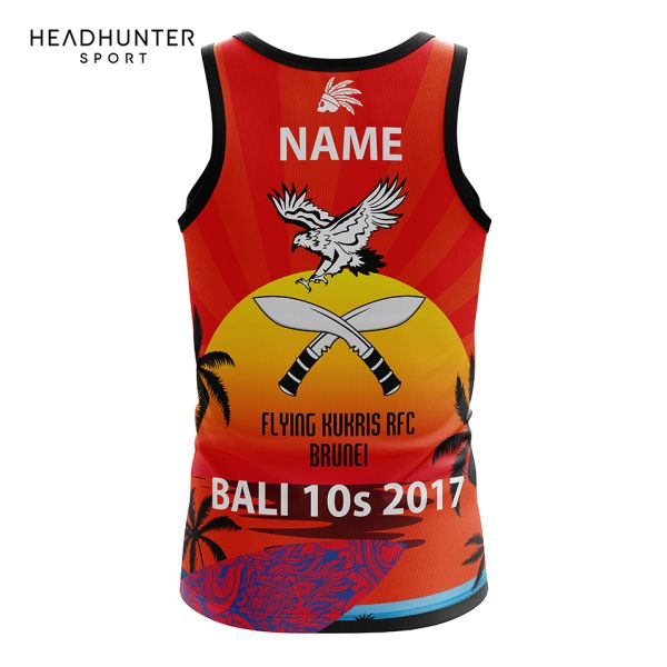 FLYING KUKRIS RFC BRUNEI SINGLET