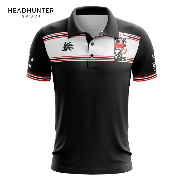 HSBC RUGBY 7S SERIES SINGAPORE 2018 MERCHANDISE P1 POLO