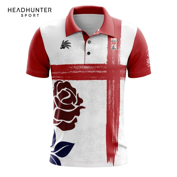 HSBC RUGBY 7S SERIES SINGAPORE 2018 MERCHANDISE ENGLAND POLO