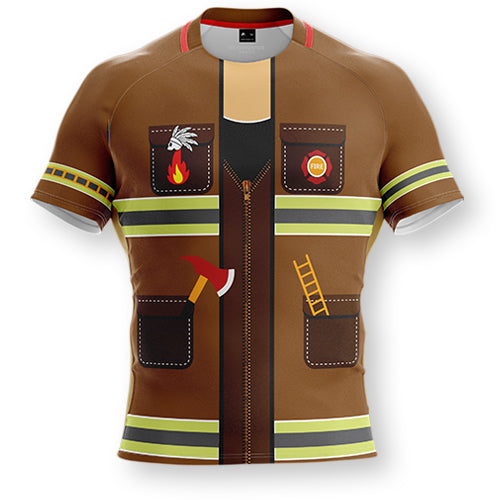 FIREMAN RUGBY JERSEY