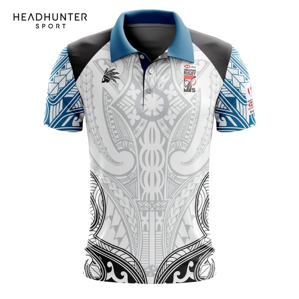 HSBC RUGBY 7S SERIES SINGAPORE 2018 MERCHANDISE FIJI POLO