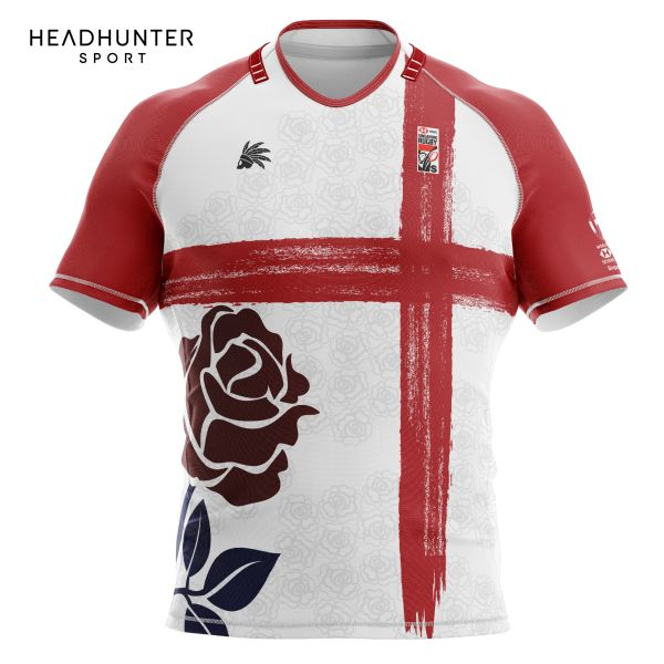 HSBC RUGBY 7S SERIES SINGAPORE 2018 MERCHANDISE ENGLAND JERSEY