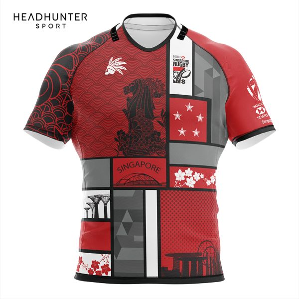 HSBC RUGBY 7S SERIES SINGAPORE 2018 MERCHANDISE JERSEY