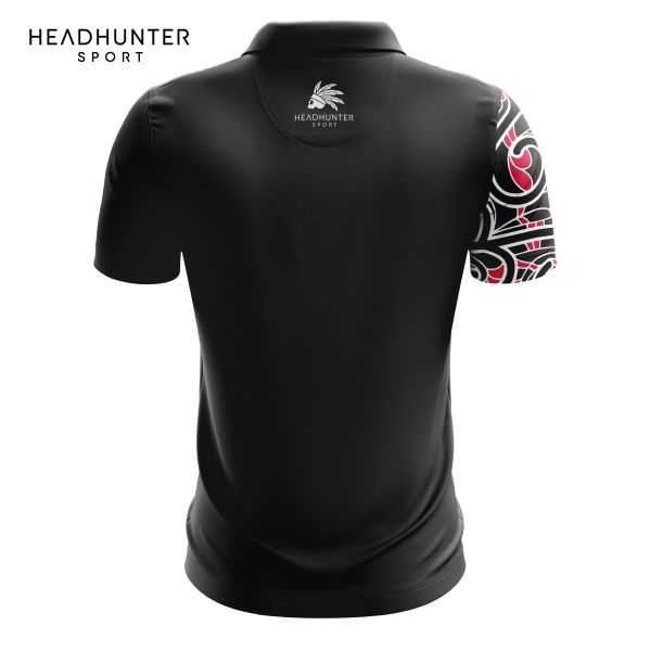 HSBC RUGBY 7S SERIES SINGAPORE 2018 MERCHANDISE MAORI POLO