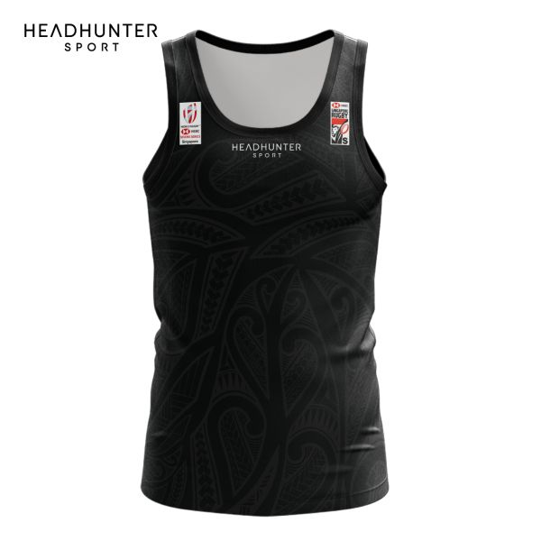 HSBC RUGBY 7S SERIES SINGAPORE 2018 MERCHANDISE NEW ZEALAND SINGLET