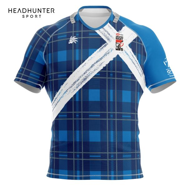 HSBC RUGBY 7S SERIES SINGAPORE 2018 MERCHANDISE SCOTLAND JERSEY