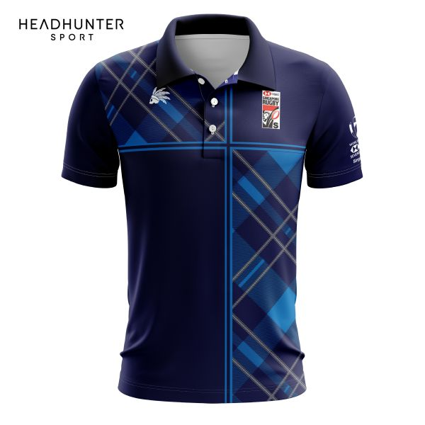 HSBC RUGBY 7S SERIES SINGAPORE 2018 MERCHANDISE SCOTLAND POLO