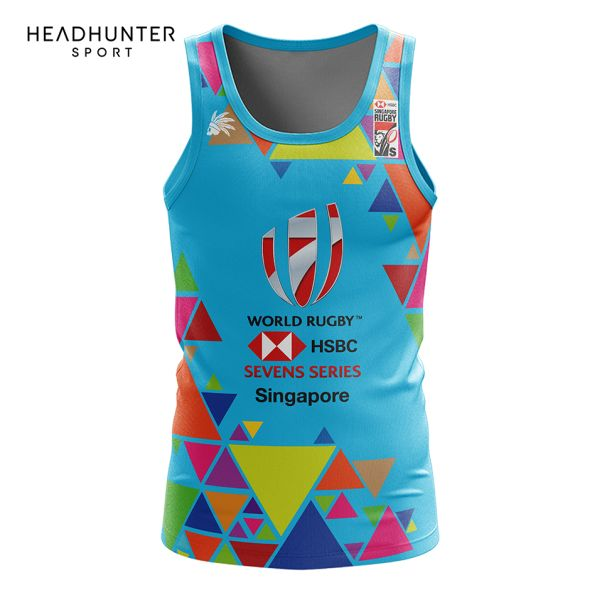 HSBC RUGBY 7S SERIES SINGAPORE 2018 MERCHANDISE S2 SINGLET