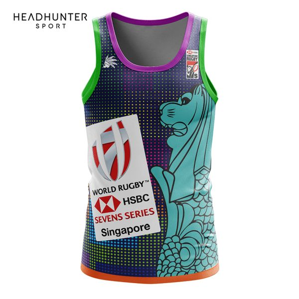 HSBC RUGBY 7S SERIES SINGAPORE 2018 MERCHANDISE S1 SINGLET