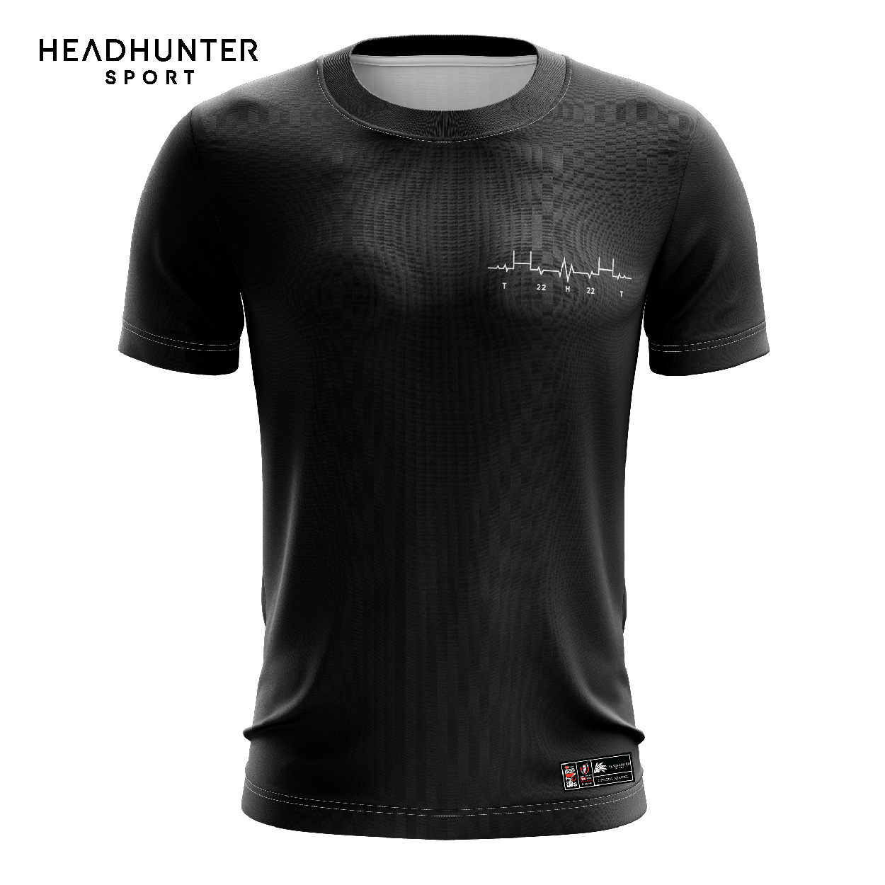 HSBC RUGBY 7S SERIES SINGAPORE 2019 MERCHANDISE BLACK T-SHIRT